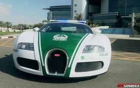 Siêu xe Bugatti Veyron gia nhập lực lượng Cảnh sát Dubai