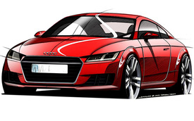 Audi hé lộ hình ảnh phác thảo Audi TT thế hệ mới
