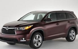 Xuất khẩu của Toyota Bắc Mỹ đạt mức kỷ lục trong năm 2013
