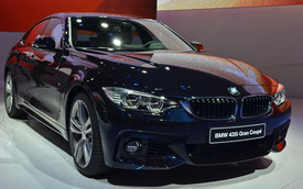 BMW 4-Series Gran Coupe: Thoải mái hơn với không gian rộng rãi