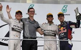 Malaysian Grand Prix: Mercedes tiếp tục phô trương sức mạnh