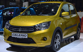 Suzuki Celerio - Đối thủ cạnh tranh đáng gờm của Toyota Aygo