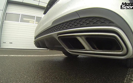 """Mercedes-Benz E63 AMG và BMW M5 đọ """"tiếng gầm"""""""