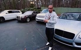 Rapper T.I đọc rap khoe dàn xế sang đắt tiền
