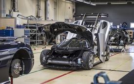Cận cảnh quá trình hoàn thiện siêu xe Koenigsegg One:1