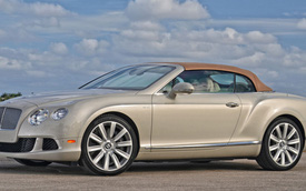 Lợi nhuận của Bentley năm 2013 tăng mức kỷ lục 66,9%