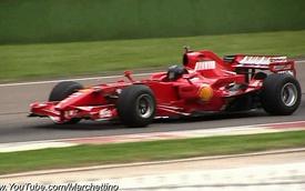 Đã tai với tiếng động cơ xe F1 qua các thời kỳ