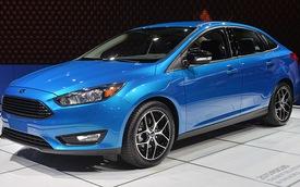 Ford Focus 2015 xuất hiện với diện mạo mới
