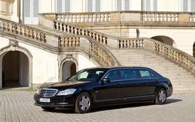 Mercedes-Benz S-Class Pullman lần đầu lộ diện