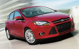 Ford bán được 1.097.618 chiếc Focus trong năm 2013