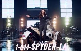 Danica Patrick xinh đẹp trong quảng cáo mới của Can-Am