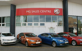 MG thuộc Trung Quốc chỉ bán được 50 xe tại Úc trong năm ngoái