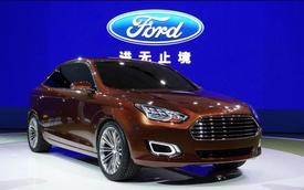 Ford Escort mới đẹp như xe concept