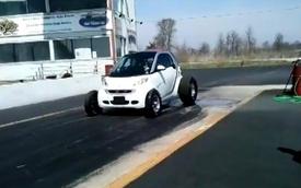 """Smart ForTwo """"gầm rú"""" với động cơ Chevrolet Big Block V8"""