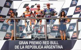 """Chặng 3 Moto GP 2014: Marquez hoàn tất """"hattrick"""", Honda đại thắng"""