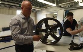 Cận cảnh quá trình chế tạo la-zăng sợi carbon tại Koenigsegg