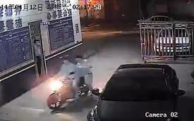 Vờ giúp cướp chạy trốn, biker đưa thẳng cướp đến đồn cảnh sát