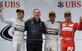 Thượng Hải GP: Điệp khúc thống trị của Mercedes