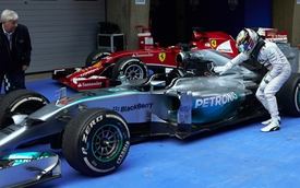 Mercedes-AMG phá kỷ lục trên đường đua Công thức 1