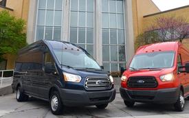 Ford Transit 2015: Rộng rãi và nhiều tùy chọn hơn