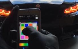 Đổi màu đèn pha bằng smartphone - Tính năng đáng mơ ước