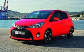 Toyota Yaris 2014 được trang bị đèn Projector và LED