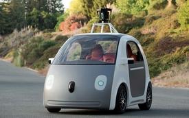 Xe tự động của Google không hề có vô lăng, chân ga và chân phanh