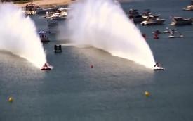 """""""Siêu thuyền"""" 8.000 mã lực chinh phục 300 mét trong 3,4 giây"""