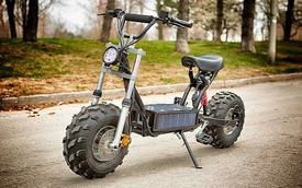 Daymak Beast - Scooter năng lượng mặt trời có khả năng off-road