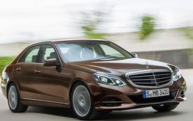 Dàn động cơ chi tiết của Mercedes-Benz E-Class 2014