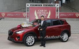 Mazda CX-5 giành giải xe của năm tại quê nhà