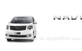 "Toyota NAV1 - ""Anh em"" mới của Innova"