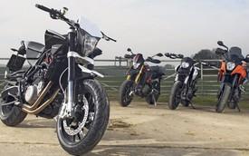 Rộ tin đồn BMW bán Husqvarna cho KTM