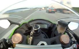 Video: Kawasaki ZX-10R Ninja đua với Audi RS6 ABT