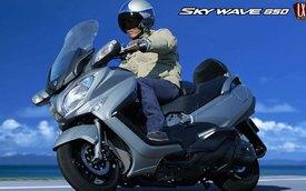 Suzuki Skywave 650 2014: Thanh lịch và ít hao xăng