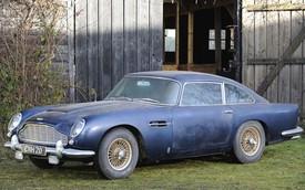 Vứt xó 32 năm, Aston Martin DB5 vẫn có giá cao