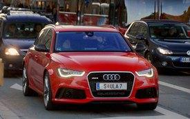 Audi RS6 Avant 2013 lần đầu xuống phố cùng tỷ phú