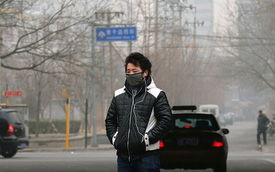 Bắc Kinh cấm xe ra đường vì ô nhiễm nặng