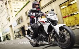 Honda CB500F 2013 đã có giá bán chính thức