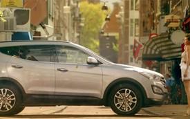 "Quá sexy, quảng cáo Hyundai Santa Fe bị ""cấm cửa"""