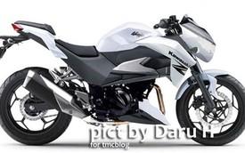 Hình ảnh đầu tiên của Kawasaki Z250 hoàn toàn mới