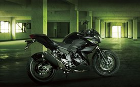 Kawasaki giới thiệu Z250 hoàn toàn mới
