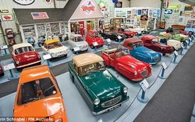 Bộ sưu tập những chiếc xe tí hon lớn nhất thế giới