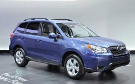 Subaru công bố giá bán Forester 2014