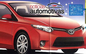 """""""Ảnh nóng"""" của Toyota Corolla 2014"""
