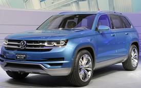 Volkswagen CrossBlue - Xe đa dụng mới của người Đức