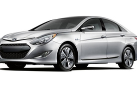 Hyundai Sonata Hybrid 2013 giảm giá