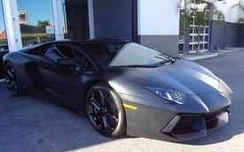 """Bạn trai cô Kim """"siêu vòng ba"""" bán Lamborghini Aventador?"""