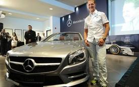 Michael Schumacher giúp Mercedes-Benz phát triển xe tính năng cao