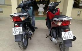 Cặp đôi SH biển đẹp kỳ lạ tại cố đô Hoa Lư